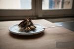 Christine's homemade tiramisu! The perfect breakfast, lunch and dinner.