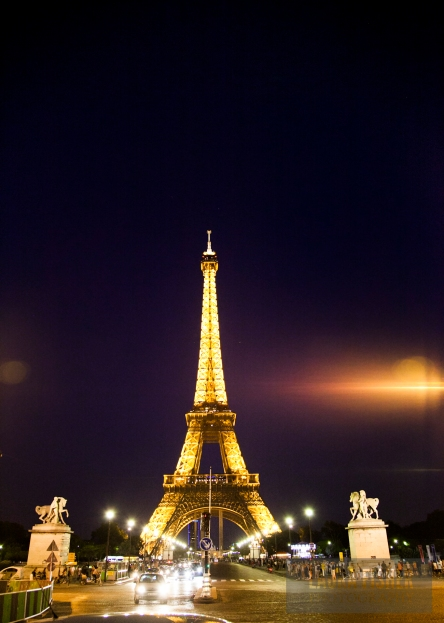 Oh, hey there, Eiffel Tower. You seem to pop up everywhere I go around here... Are you following me?