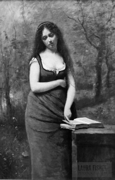 Corot was the original emo kid. THIS PAINTING WAS SO MISUNDERSTOOD, I HAD TO PUT IT IN BLACK AND WHITE.