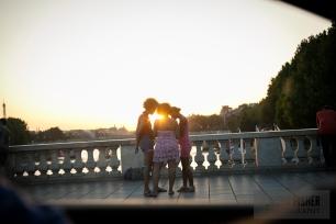 Ahhh, the LIGHT!! Oh, Paris, you slay me.